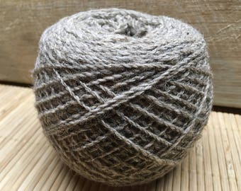 DOTTIE Jacob/DorsetX alpaca blend yarn 100g balls 4 ply GREY S17
