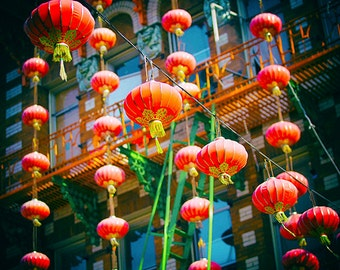 Chinatown Photography, Paper Lanterns, San Francisco Photos, Lighting Fixtures, Colorful California, Travel, China Town