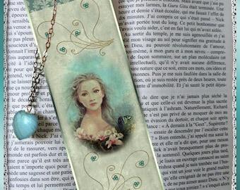 """Laminated bookmarks """"Bucolic"""""""