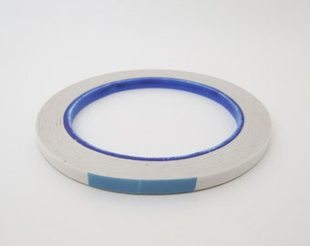 Double sided adhesive tape. 25 metres. 4/6/9/12mm