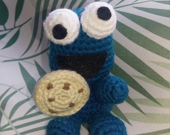 Cookie Monster-Monster of Amigurumi cookies