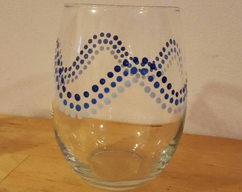 Wave Wine Glasses