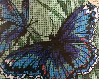 """SUMMERSALE Dimensions Butterly Duo Needlepoint kit, 5'X5"""""""