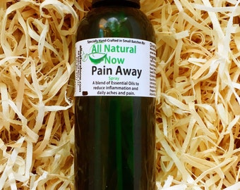 Pain Away Essential Oil Spray with Aloe/100% Pure & Therapeutic Essential Oils/Reduce Inflammation/Daily Aches