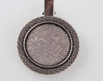 30mm brooch back clip