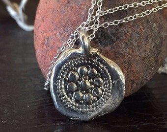 Silver Treasure necklace Three