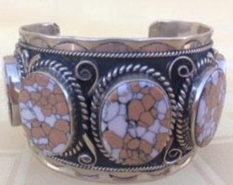 Vintage Sterling Silver Bangle, Sterling Silver Cuff, Sterling Silver Bracelet , Sterling Silver Cuff Bracelet,  Sterling Silver 9.25 Mexico