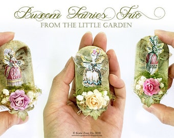 From the Little Garden; Buxom Fairies Trio