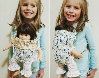 Custom Handmade Baby Doll Carrier
