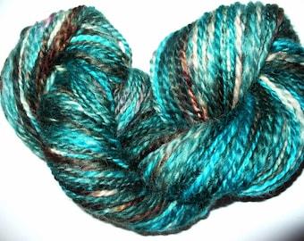 Handspun Wool  Yarn for Knitting Crochet