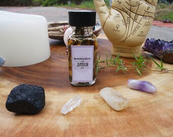 Samhain Sabbat Oil Elixir Potion - Halloween, Ancestors, Thinning of Veil, End of Harvest, Protection, Life & Death