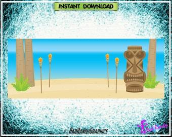 Facebook Cover Design , Tiki Design.