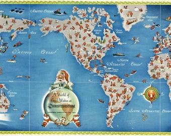 Digital modern political world map printable download large digital modern merry christmas world map printable download large world map printable map high resolution world map christmastime santa gumiabroncs Image collections