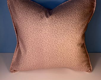 """18x18"""" Decorative Corded Pillow Cover - Pink Floral"""
