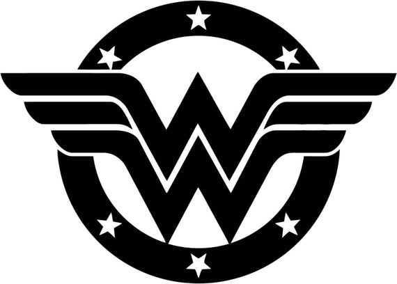 wonder woman png digital file stencil vector cut file cricut rh etsy com wonder woman logo vector 2017 wonder woman vector free download