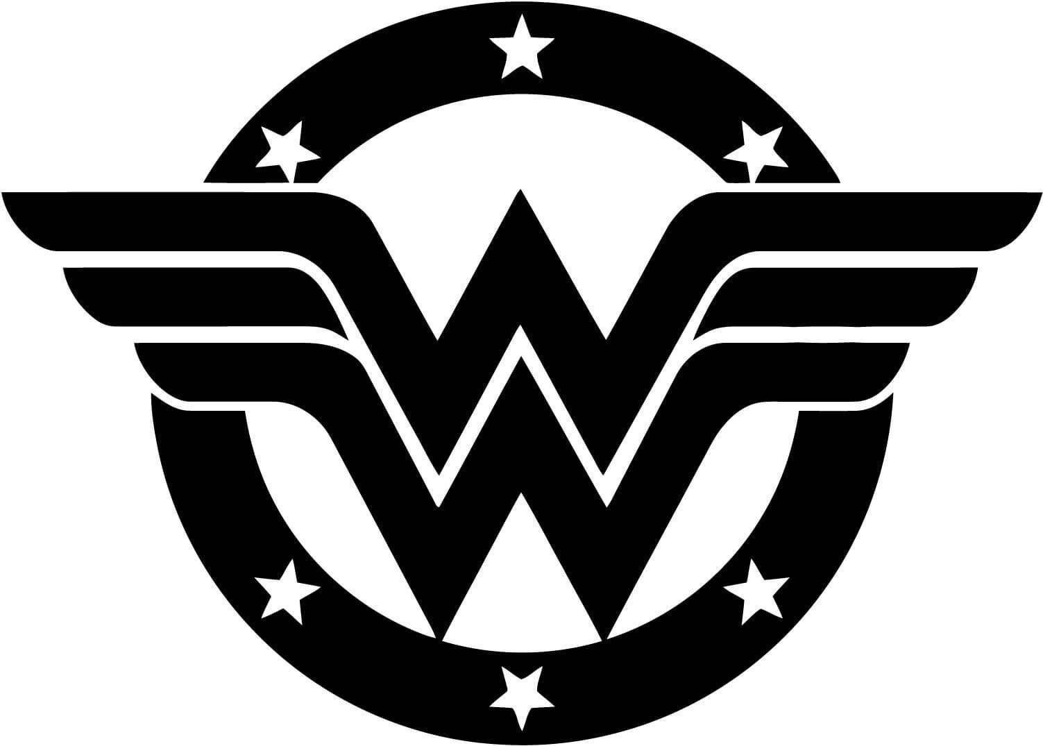 Wonder woman png digital file stencil vector cut file cricut zoom biocorpaavc Images