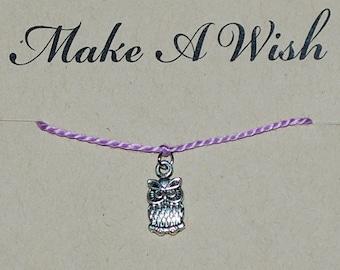 Owl Wish Bracelet - Buy 3 Items, Get 1 Free