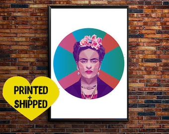Frida Kahlo Poster Print Wall Art Frida Print Room Decor Frida Art Minimalist Gift Modern wall art Frida kahlo art frida kahlo download