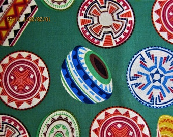 RARE FABRIC SOUTHWEST - South West Pets by M'Liss - Southwest Icons - 1 Yard - sw2
