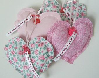 Heart Ornaments Thank You Gift Grateful Heart(TM) Set Thanksgiving