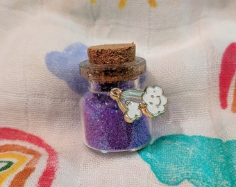 Rainbow Baby Dust! (Purple) - TTC Gift, Infertility Gift