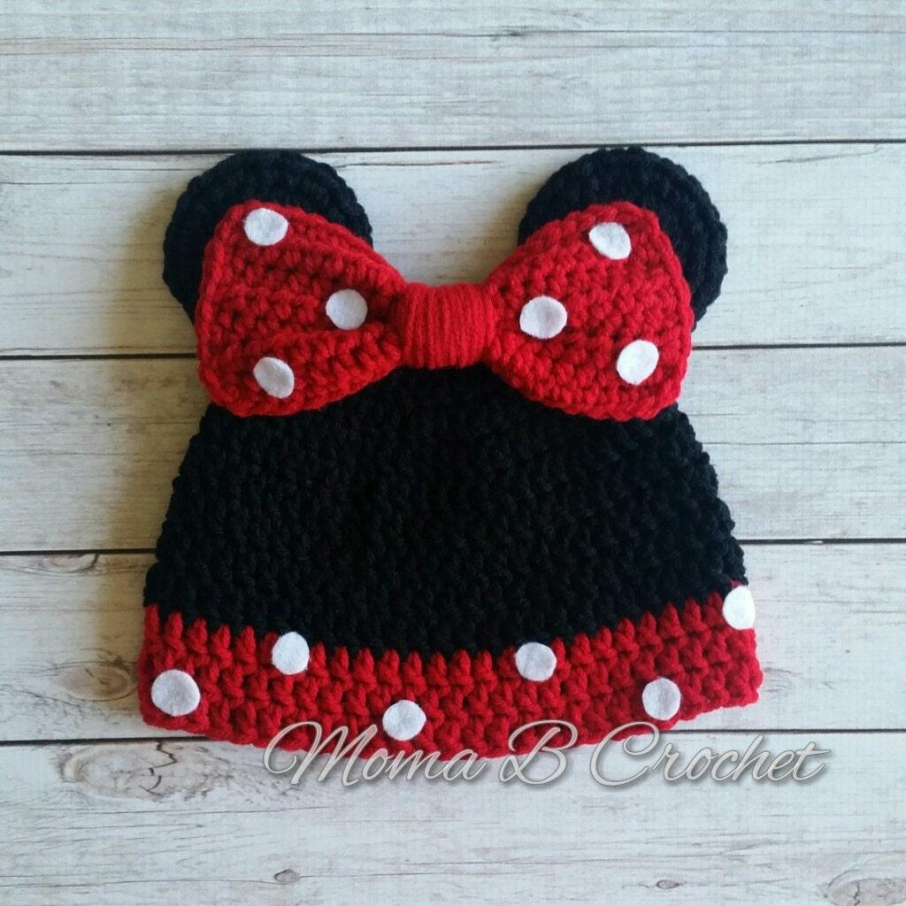 Minnie Mouse Hut Minnie Mouse Hut beliebte Maus Hut häkeln
