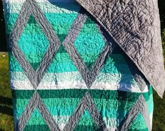Aztec Diamond Quilt
