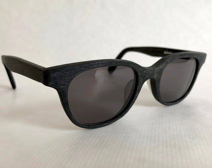 Kaneko Optical KB-10 BKW Vintage Sunglasses Hand Made in Japan - New Old Stock