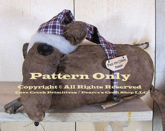 Primitive Mouse Pattern, Mouse Patterns, Primitive Mouse, Animal Patterns, Primitive Animals, Sewing Patterns, Primitive Mice, E-Patterns