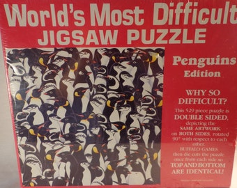 World's Most Difficult Puzzle PENGUINS 1993 .  Sealed