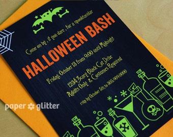 Halloween Invitation - Gothic Invitation