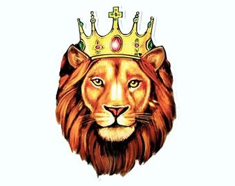 Lion (leo) sticker