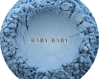 Mineral Eye Shadow 'BabyBaby' Blue Mineral Makeup Eyeshadow