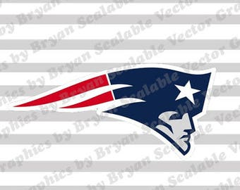 New England Patriots Logo SVG EPS files,Silhouette Files,Scan n Cut files,Cricut Files,Digital cut file,SVG Cut File,Vinyl Cutter,Vector Art
