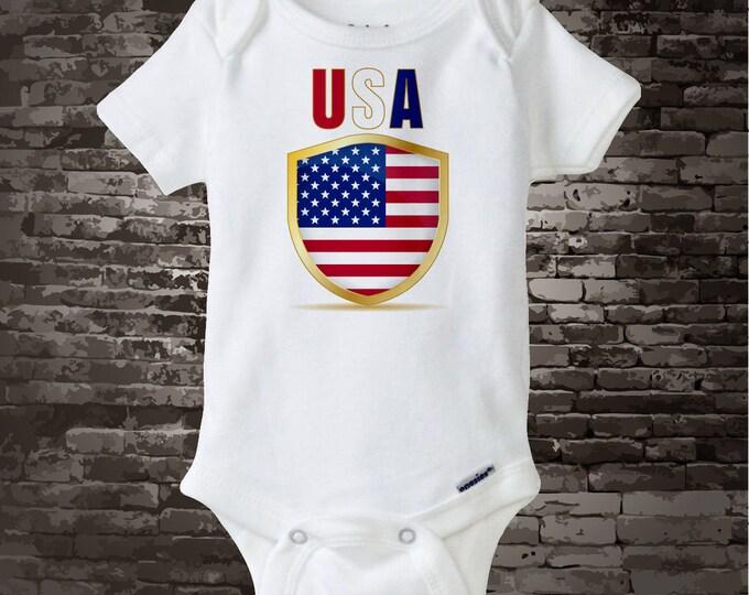 4th July Onesie   4th of July Tee Shirt or Onesie   USA July 4th Onesie   4th July Shirt or Onesie   1st 4th July 06202017g