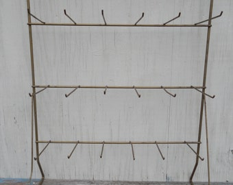 Vintage Metal Wire Display Rack!