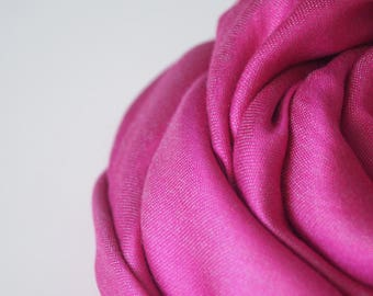 cashmere and silk wrap