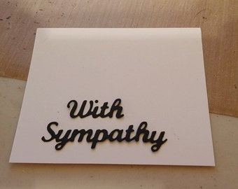 With Sympathy 2 to a set