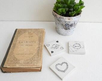 Decoration for office - objects concrete decorative concrete - gift - desk - paperweight concrete