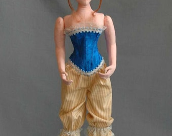 "ES110E - Annabella, 16"" Cloth Doll Pattern, PDF Download Sewing Pattern."