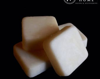 Pomegranate Scented Soy Wax Melts - 4 Individually Wrapped Pieces