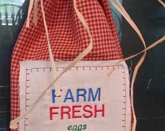 Red Checked Farmhouse/Primitive Decorative Dish Towel