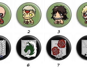 Badges Shingeki no Kyojin 2