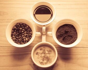 Coffee Photography Digital Download Photography art for kitchen coffee art print still life wall art kitchen decor