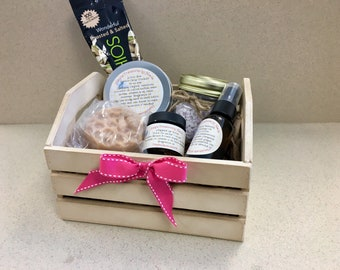 Spa Gift Basket, Relaxation Basket, Mother's Day Basket, Mother's Day Gift, Gift Basket, Soap Gift Basket, Birthday Gift, Mother's Day, Gift