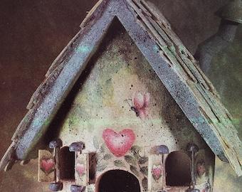 Bodacious Birdhouse- Vintage Tole Painting Book