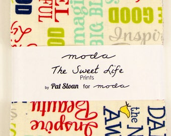 Moda The Sweet Life Prints Charm Pack by Pat Sloan