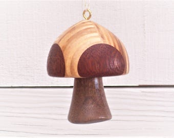 Turned Wood Ornament #106
