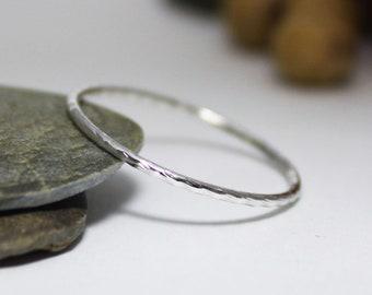 1.0mm Diamond Cutting Ring/ Stacking Ring/ Statement Ring/ Dainty Cutting Ring/ Twist Cutting ring/ Twist Ring