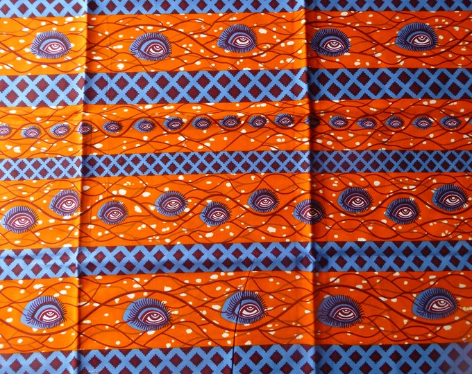 African Fabrics Block Print Fabrics For Dress &Craft Making Sewing Fabric/Kitenge/Pagnes/Kikwembe /Tissues Africa/Chitenge Sold By Yard